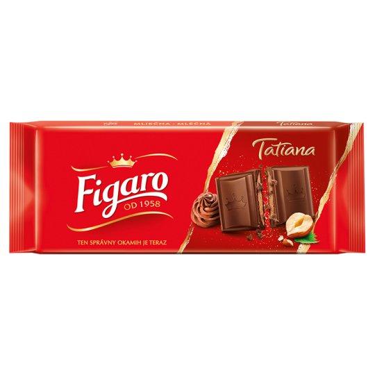 Figaro Tatiana Milk Chocolate with Hazelnut Filling 90 g