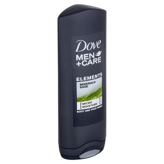 Dove Men+Care Elements sprchovací gél na telo a tvár 250 ml