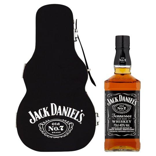 Jack Daniel's Tennessee Whiskey v gitarovom puzdre 40% 0,7 l