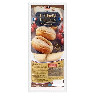 Klar L´Chefs Baguettes for Baking 6 pcs 300 g