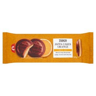 Tesco Piškóty s pomarančovým želé polomáčané v horkej čokoláde 150 g