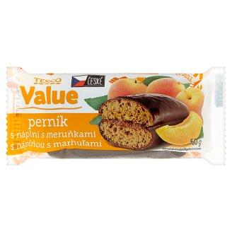 Tesco Value Gingerbreads with Apricots 60 g