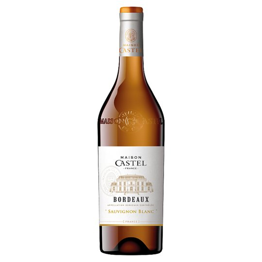 Maison Castel Bordeaux Sauvignon Blanc Semi-Dry White Wine 750 ml