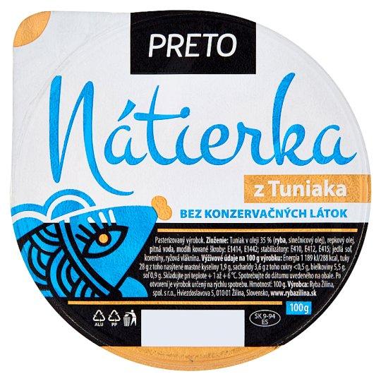 Ryba Žilina Preto Nátierka z tuniaka 100 g