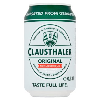 Clausthaler Classic Light Non Alcoholic Beer 0.33 L