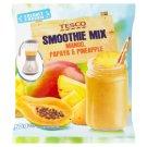 Tesco Smoothie Mix Mango, Papaya & Pineapple 250 g