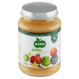 Ovko Apple with Vanilla Flavor Infant Formula 190 g