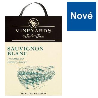 Vineyards World Wines Sauvignon Blanc biele víno suché 3 l