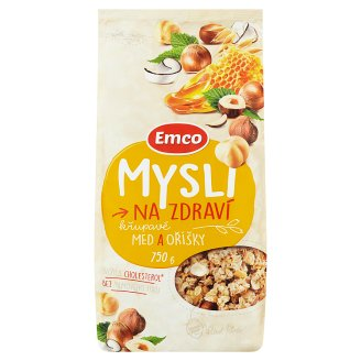 Emco Mysli na Zdraví Crunchy Honey and Nuts 750 g