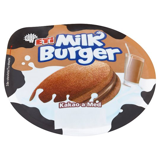 Eti Milk Burger Cocoa and Honey 35 g