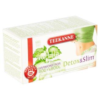 TEEKANNE Harmony for Body & Soul, Detox & Slim, Herbal Tea, 20 Tea Bags, 32 g