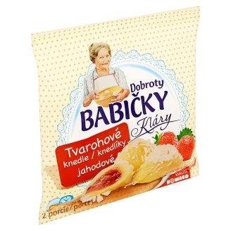 Dobroty Babičky Kláry Tvarohové knedle jahodové 320 g