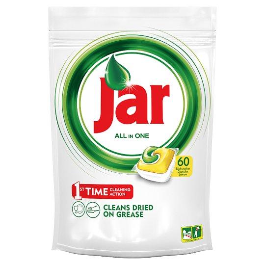 Jar All In One Lemon kapsuly do automatickej umývačky riadu 60 kusov