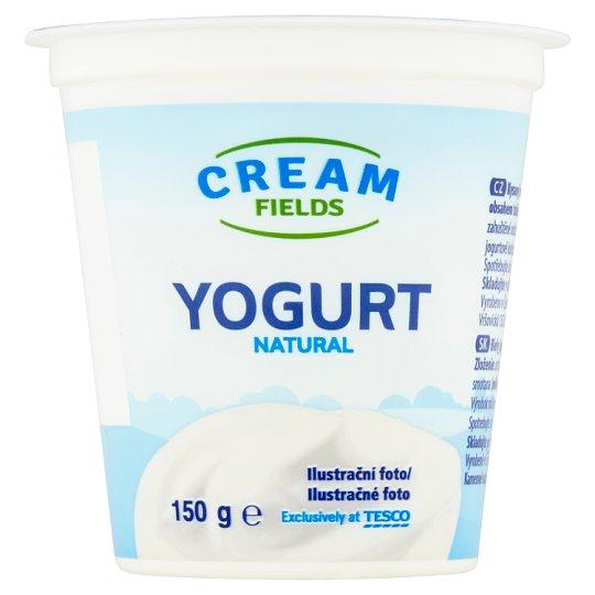 Cream Fields Biely jogurt so zníženým množstvom tuku 150 g