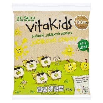 Tesco Goodness Vitakids jablkové plátky 25 g