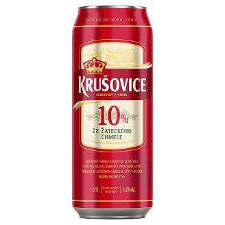 Krušovice 10% Light Draft Beer 0.5 L