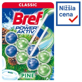 Bref Power Aktiv Pine Forest tuhý WC blok 2 x 50 g