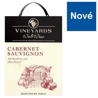 Vineyards World Wines Cabernet Sauvignon Dry Red Wine 3 L