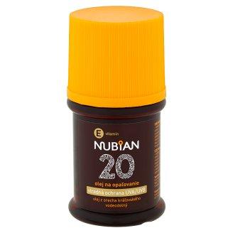 Nubian Olej na opaľovanie SPF 20 60 ml