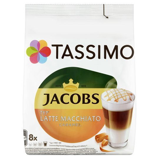 Tassimo Jacobs Latte Macchiato Caramel 268 g