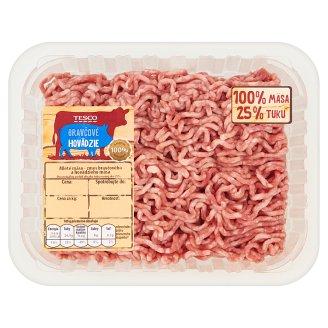 Tesco Mleté mäso - zmes bravčového a hovädzieho mäsa - chladené 0,500 kg