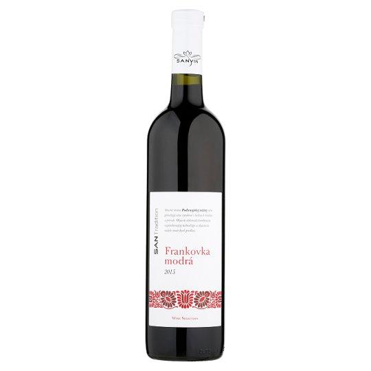 Sanvin San Tradition Frankovka modrá akostné odrodové víno červené suché 0,75 l