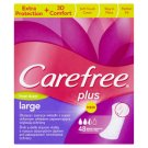 Carefree Plus Large Pantyliners with Fresh Scent 48 pcs