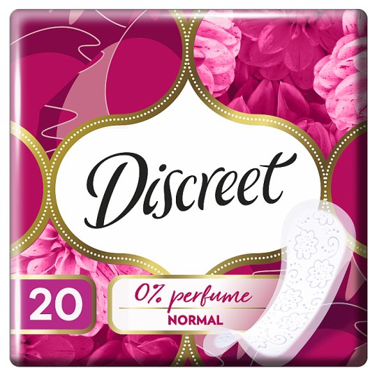 Discreet Normal Neparfumované Intímky 20 ks