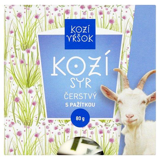 Kozí Vŕšok Goat Cheese Fresh with Chives 80 g