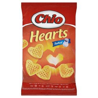 Chio Hearts Salted smažený zemiakovo-ryžový snack s príchuťou 65 g