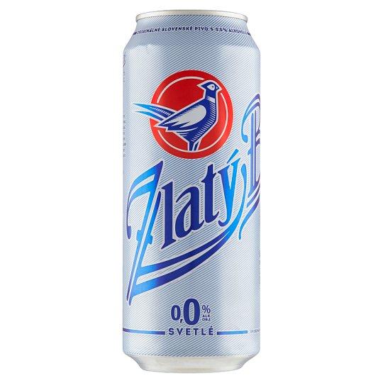 Zlatý Bažant 0.0% Light Non-Alcoholic Beer 500 ml