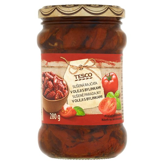 Tesco Dried Tomatoes in Oil with Herbs 280 g