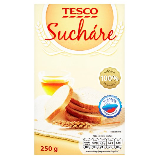 Tesco Biscuits 250 g