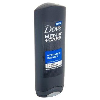 Dove Men+Care Hydration balance sprchovací gél na telo a tvár pre mužov 250 ml