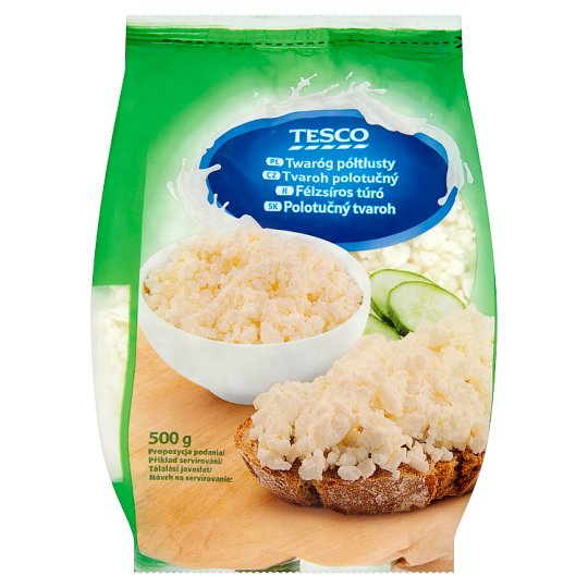 Tesco Half-Fat Curd 500 g