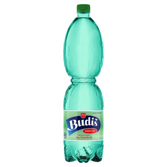 Budiš Natural Mineral Water Gently Sparkling 1.5 L