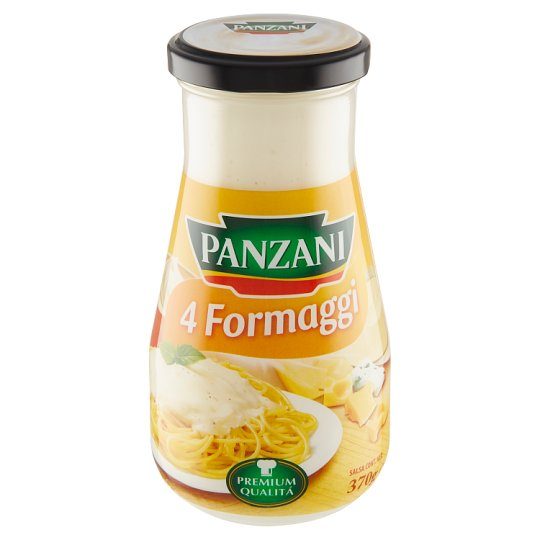 Panzani 4 Formaggi Ready Sauce with Cream and 4 Kinds of Cheese 370 g
