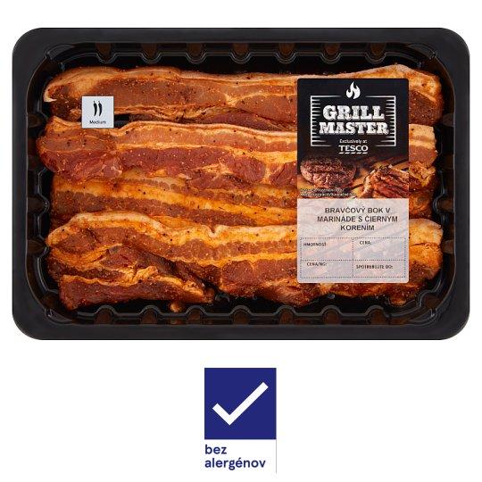 Tesco Grill Bravčový bok v BBQ marináde 0,300 kg