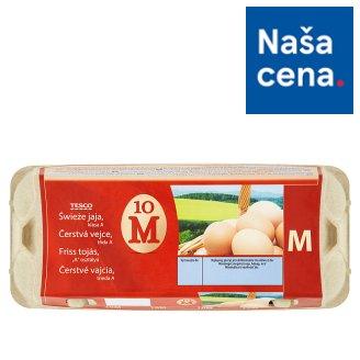 Tesco Čerstvé vajcia M 10 ks