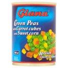 Giana Hrášok s mrkvou a kukuricou v slanom náleve 380 g