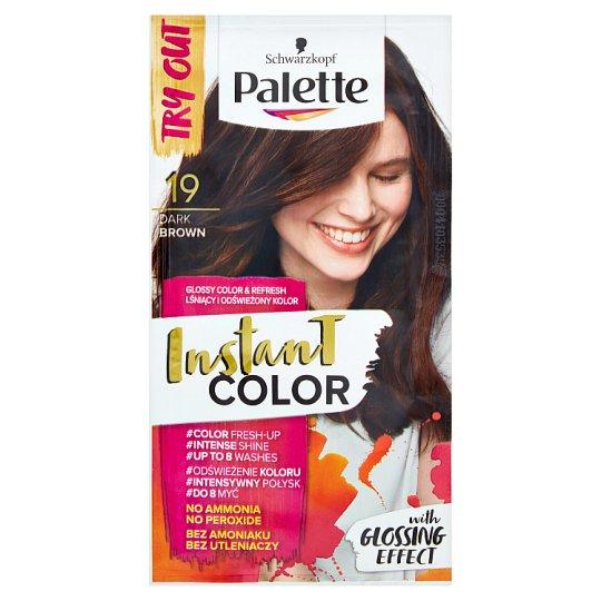 Palette Instant Color farba na vlasy Tmavohnedá 19 25 ml