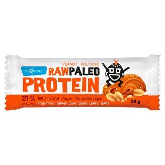 MaxSport Paleo Raw proteínová tyčinka s arašidovým maslom a vulkanickou soľou 50 g