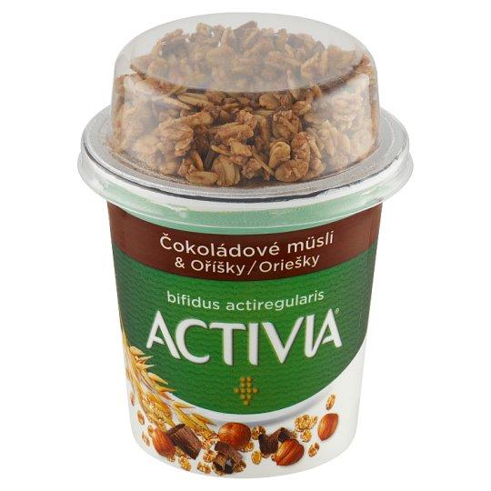 Danone Activia White - Chocolate Muesli with Nuts 170 g