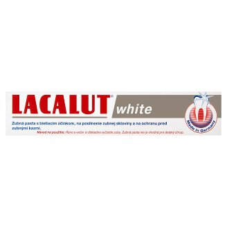 Lacalut White Toothpaste with Whitening Effect 75 ml