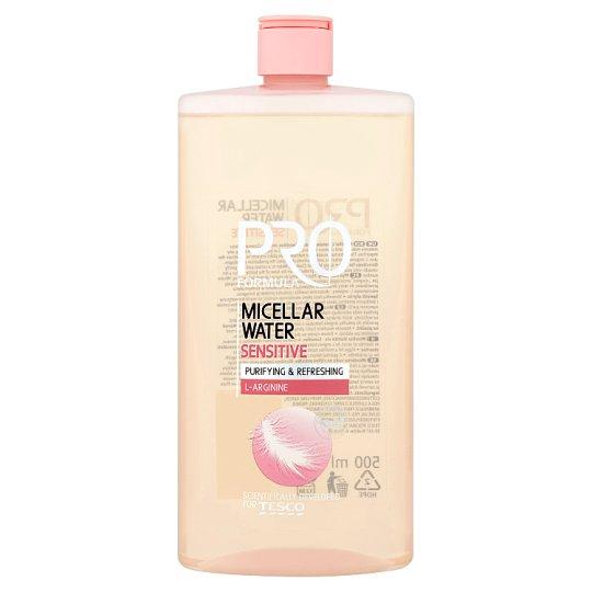 Tesco Pro Formula Micelárna voda na citlivú pokožku 500 ml