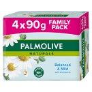 Palmolive Naturals Balanced & Mild Toilet Soap 4 x 90 g