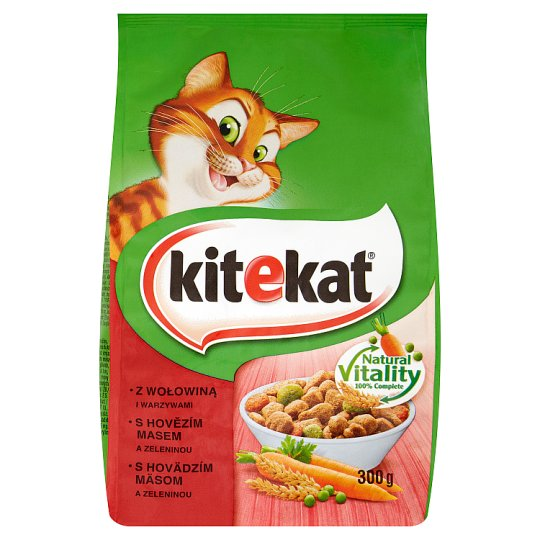 Kitekat with Beef and Vegetables 300 g