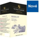 Vineyards World Wines Merlot Dry Red Wine 3 L