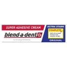 Blend-a-dent Complete Original Fixačný Krém Na Zubnú Protézu 47g