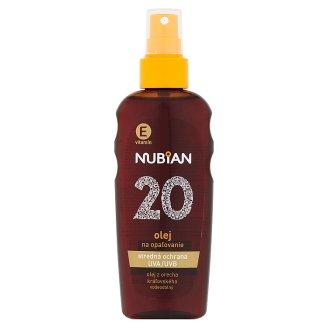 Nubian Olej na opaľovanie SPF 20 150 ml